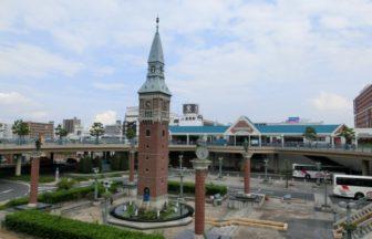 倉敷駅北口からくり時計台