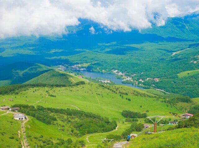 蓼科 白樺湖