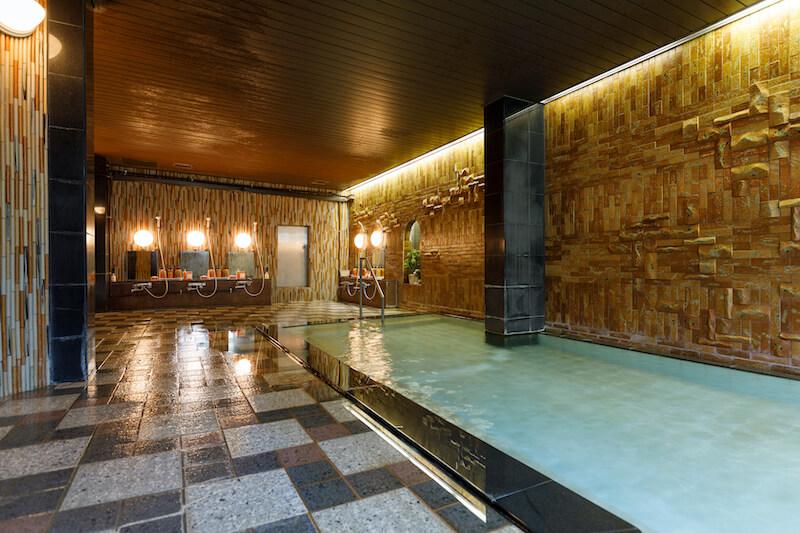 きぬ川国際ホテル 大浴場