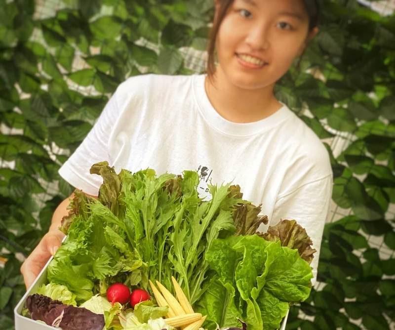 新鮮野菜でバーベキュー♪