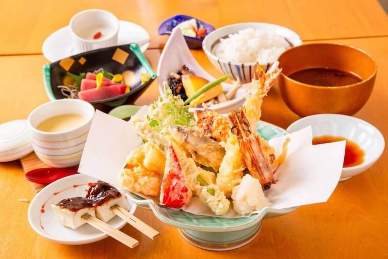 天ぷら酵房 Fritto 食事