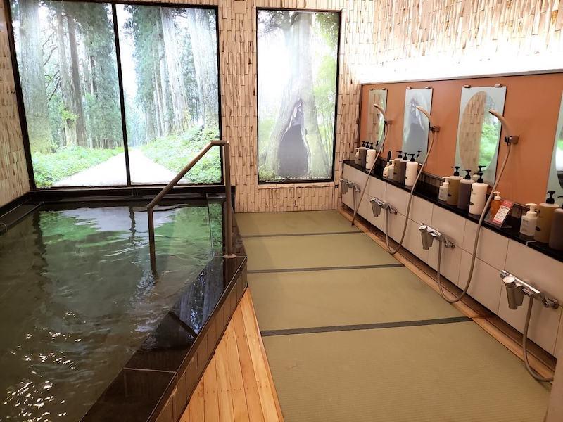 きぬ川国際ホテル 畳風呂